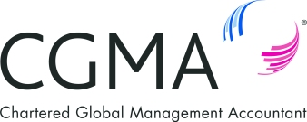 CGMA logo powered by
